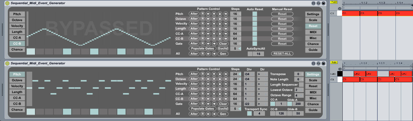 Sequential Midi Event Generator version 1 2 by MatthewJames